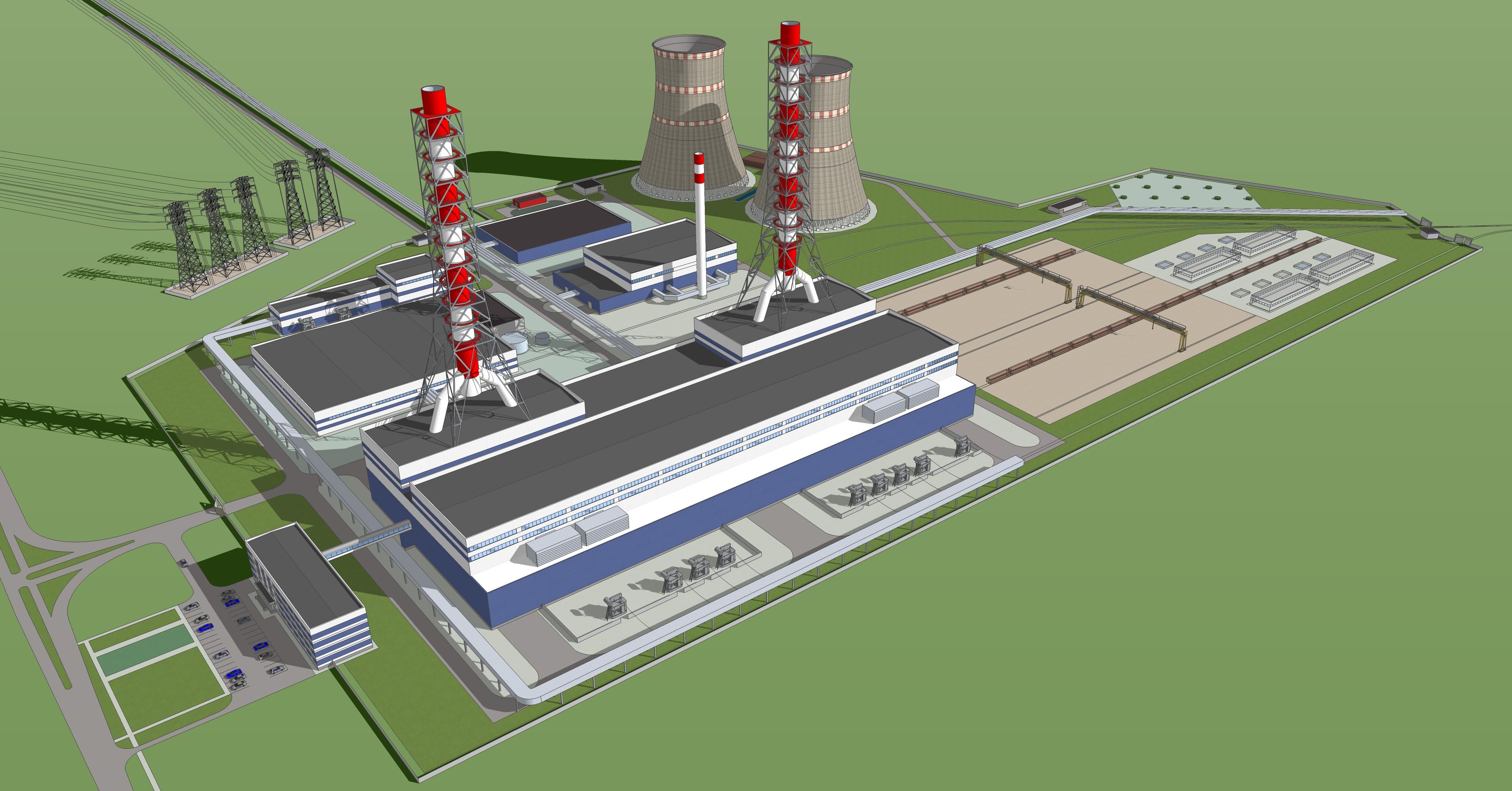 3D Modell KWK in Nischni Nowgorod