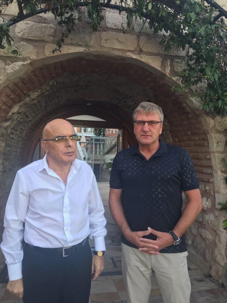 Treffen mit Herrn Ahmet ERKOC, Istanbul