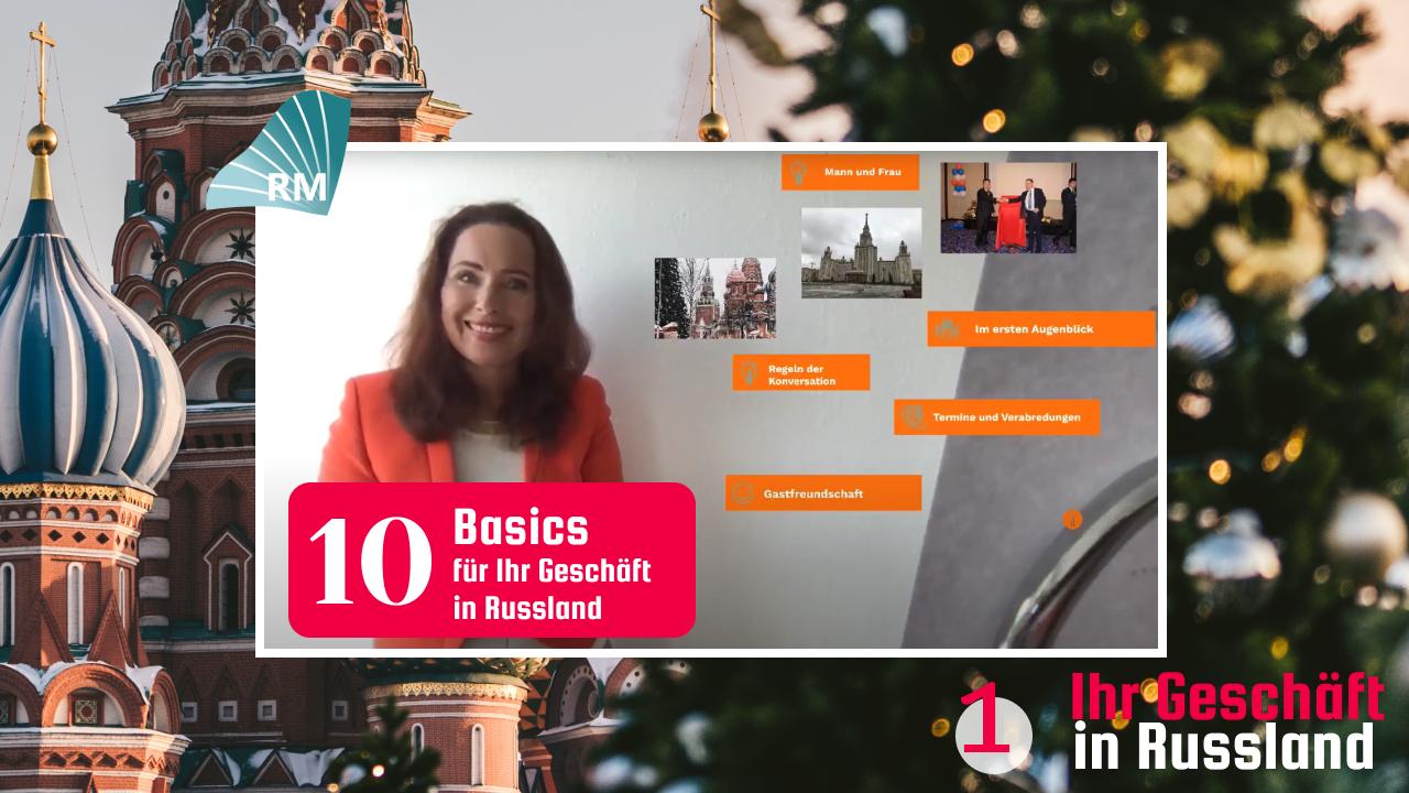 10 Basics für Ihr Geschäft in Russland